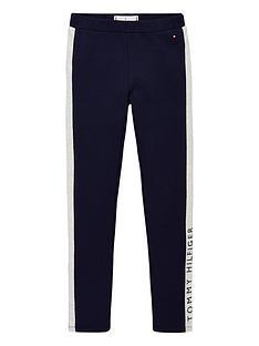 tommy-hilfiger-girls-logo-leggings-navy