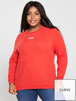 levis-plus-relaxed-graphic-crew-sweatshirt-red