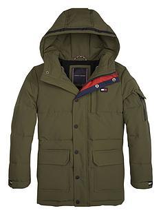 tommy-hilfiger-boys-long-padded-hooded-parka-coat-olive