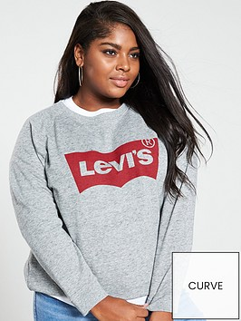 levis-plus-relaxed-graphic-crew-sweatshirt-grey