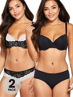dorina-callista-curve-2-pack-t-shirt-bra-black