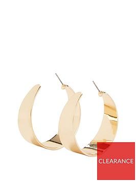 michelle-keegan-wide-hoop-earrings-gold