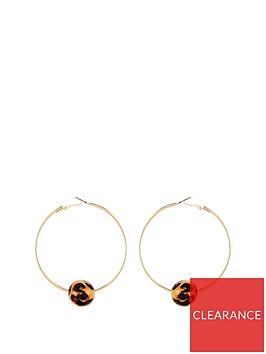 v-by-very-ball-hoop-earrings--nbspleopard-printnbsp