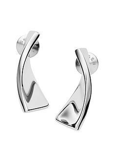 skagen-skagen-kariana-silver-mirror-finish-mini-hoop-ladies-earrings