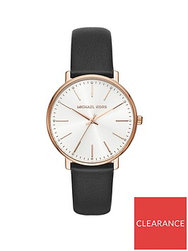 michael-kors-michael-kors-pyper-silver-and-rose-gold-detail-dial-black-leather-strap-ladies-watch