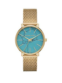 michael-kors-michael-kors-pyper-blue-marble-and-gold-detail-dial-gold-stainless-steel-bracelet-ladies-watch