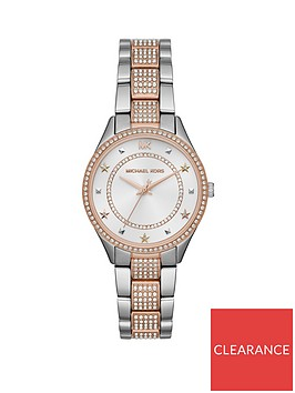 michael-kors-michael-kors-ritz-silver-sunray-and-rose-gold-detail-crystal-set-mini-dial-stainless-steel-and-mother-of-pearl-bracelet-ladies-watch