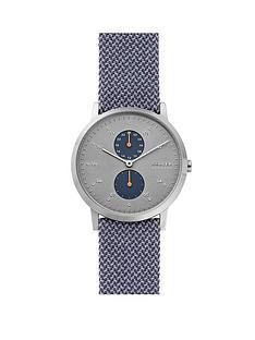 skagen-skagen-kristoffer-grey-multi-dial-blue-kravadt-fabric-strap-mens-watch