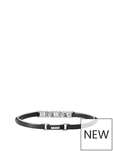 fossil-fossil-stainless-steel-and-black-leather-mens-bracelet