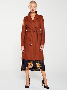 ted-baker-ellgenc-d-ring-wrap-coat-brown
