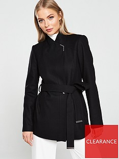 ted-baker-drytaa-short-wrap-coat-black