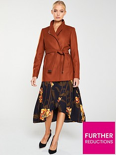 ted-baker-drytaa-short-wrap-coat-brown