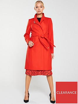 ted-baker-ellgenc-d-ring-wrap-coat-bright-red