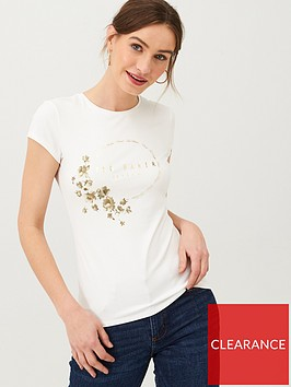 ted-baker-salii-pearl-printed-fitted-t-shirt-ivory