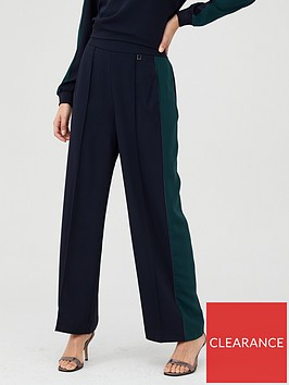ted-baker-clarpa-contrast-panel-wide-leg-trouser-dark-blue