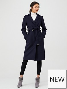 ted-baker-chelsyy-buttoned-wrap-coat-dark-blue