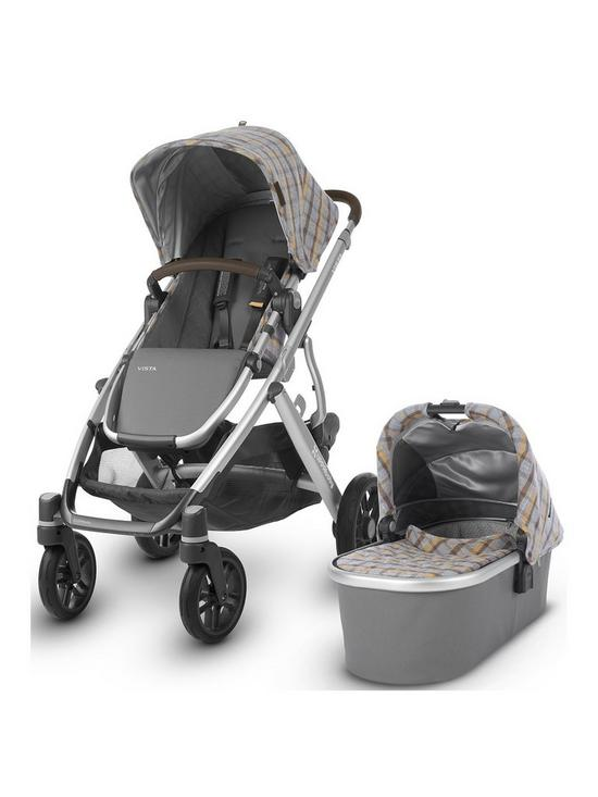 Uppababy Vista Pushchair Carrycot Seat Unit And Footmuff Spenser