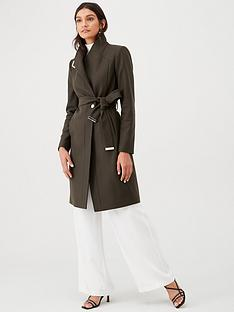 ted-baker-ellgenc-d-ring-wrap-coat-green