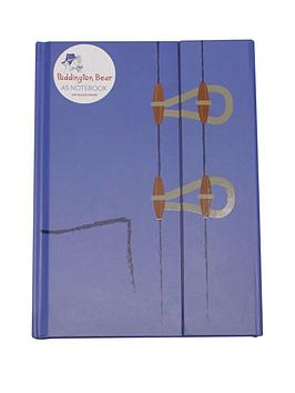 a5-notebook-paddington-bear-duffle-coat