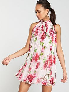 river-island-river-island-floral-cut-away-pleated-swing-dress-floral