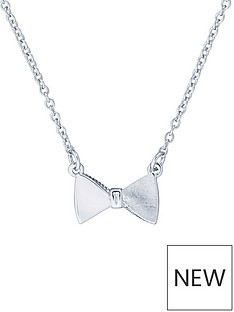 ted-baker-tengar-tux-bow-pendant-necklace-silver
