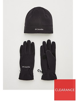 columbia-fast-trek-glove-and-hat-set
