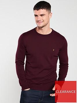 farah-mullen-sweatshirt-maroon