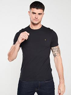 farah-dennis-solid-t-shirt-deep-black