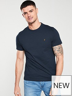 farah-dennis-solid-t-shirt-true-navy