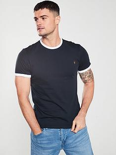 farah-farah-groves-ringer-t-shirt-true-navy