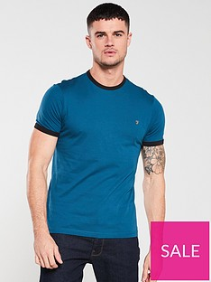 farah-groves-ringer-t-shirt-teal