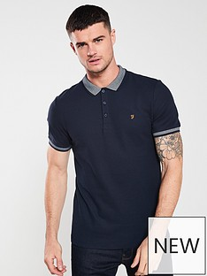 farah-mills-polo-shirt-navy