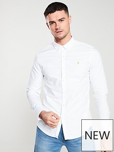 farah-brewer-long-sleeved-shirt-white