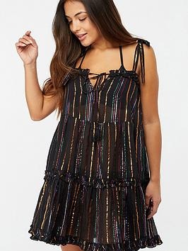 accessorize-rainbow-shiny-stripe-dress-black