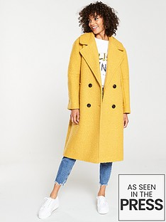 v-by-very-oversized-boucle-coat-mustard