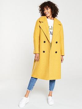v-by-very-oversized-boucle-coat-mustard