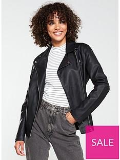 v-by-very-longline-pu-biker-jacket-black