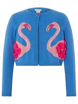 monsoon-girls-lola-flamingo-cardigan-blue