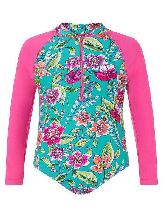 07acc899cc6 Monsoon Hallie Sunsafe Swimsuit   very.co.uk