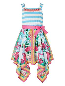 monsoon-girls-mabel-flamingo-dress-multi