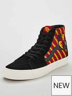 vans-harry-potter-sk8-hi-gryffindornbsphi-top-skate-shoes-maroonyellow