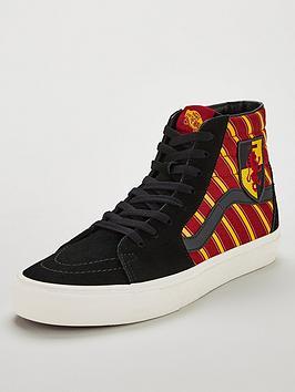 vans-harry-potter-sk8-hi-gryffindornbsphi-top-skate-shoes-maroonyellow