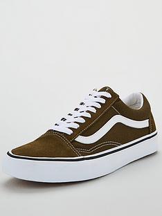 vans-old-skool-plimsolls-khakiwhite