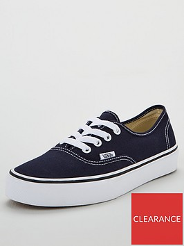 vans-authentic-plimsolls-navywhitenbsp