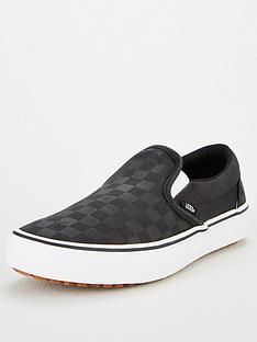 vans-slip-on-checkerboard-plimsolls-black