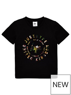 hype-boys-just-hype-palm-short-sleeve-t-shirt-black