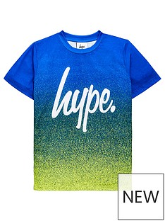 hype-boys-script-fade-short-sleeve-t-shirt-greenblue