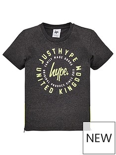 hype-boys-just-hype-neon-short-sleeve-t-shirt-grey