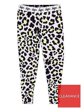hype-girls-leopardnbspprint-waistband-leggings-pinkblack