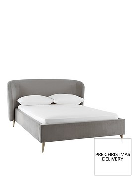 silentnight-rosa-fabric-bed-frame-light-grey